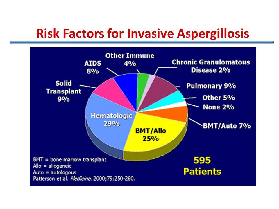 Risk Factors for Invasive Aspergillosis