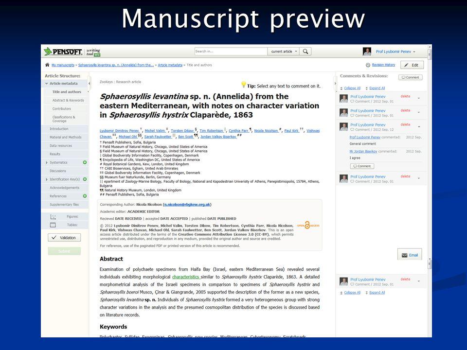 Manuscript preview