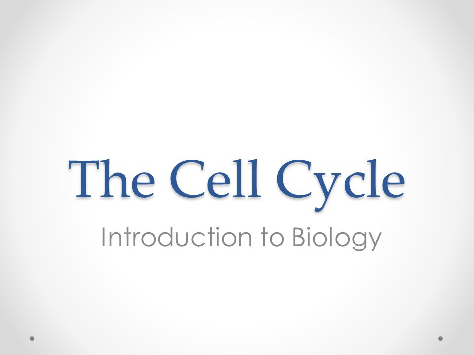 The Key Roles of Cell Division The ability to reproduce is one of the key features that separates life from non-life.