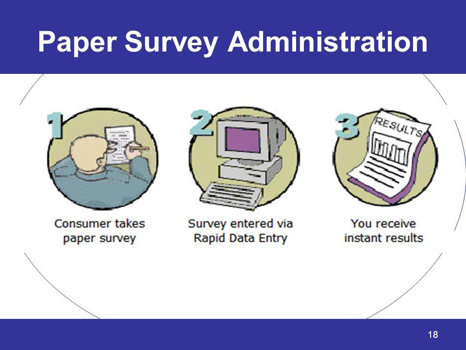 Paper Survey Administration 18