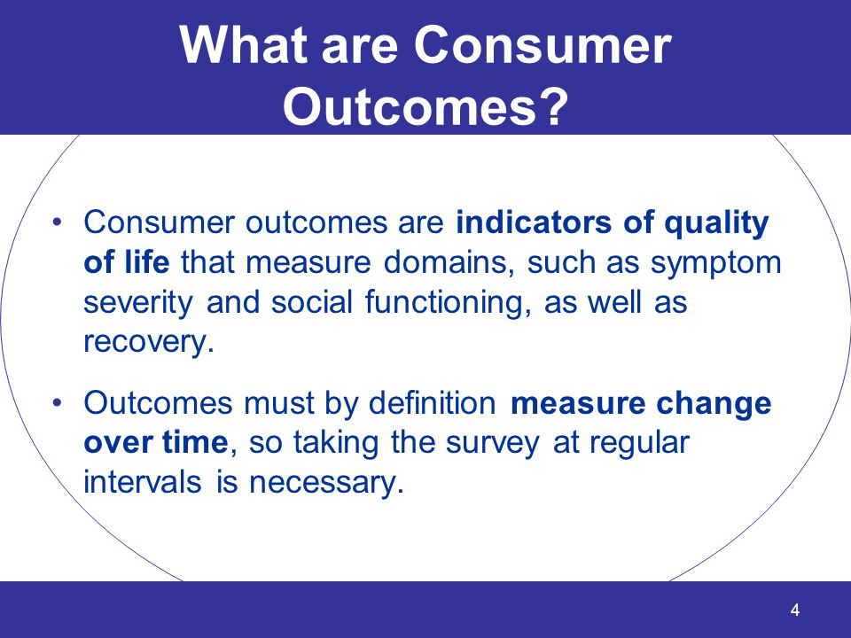Who Benefits from Outcomes Tracking? Client Clinician Regions & LGE's Office of Behavioral Health 5