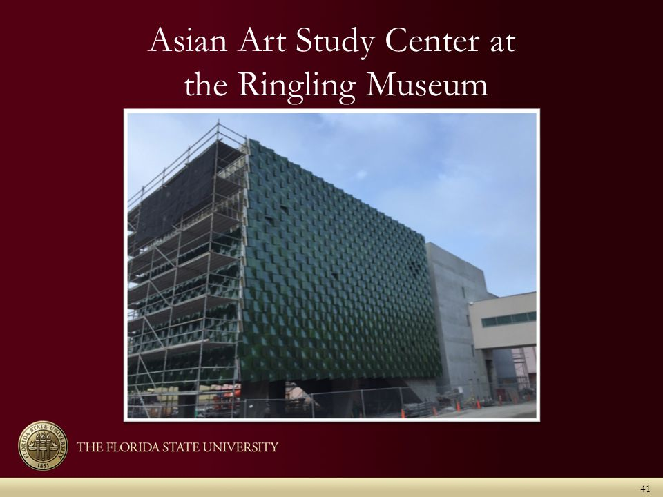 41 Asian Art Study Center at the Ringling Museum