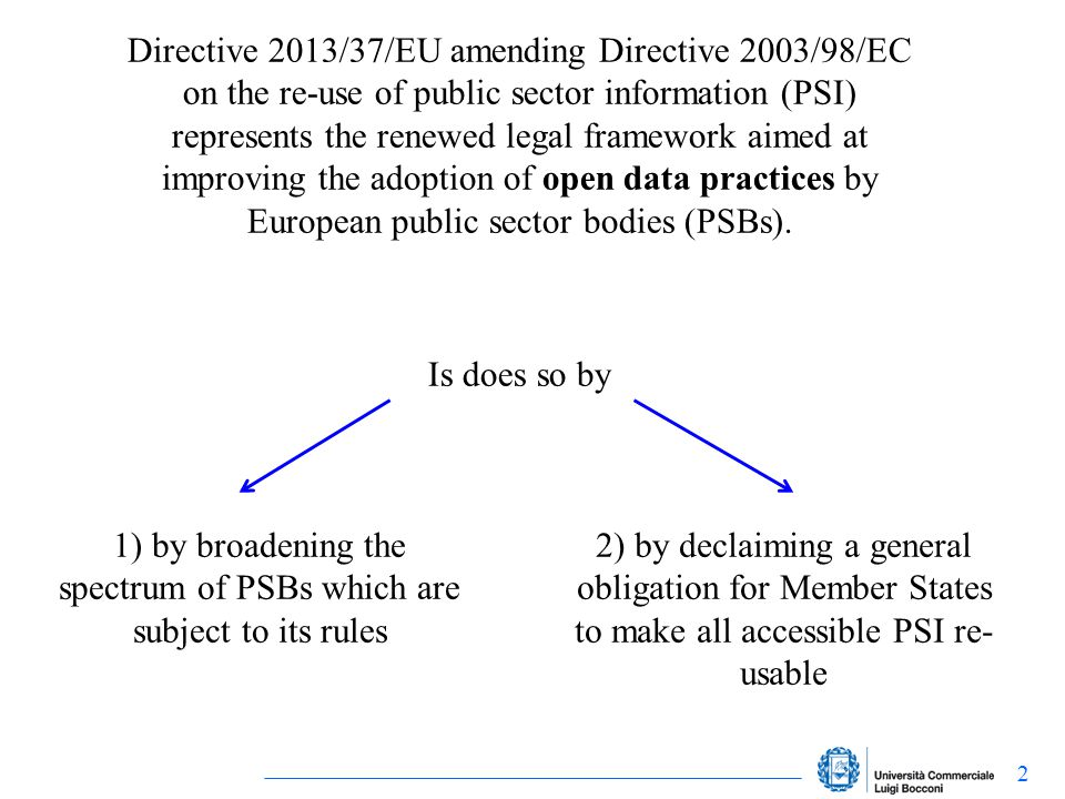 But the same Directive acknowledges that PSBs must adopt this presumption in favour of openness to the extent permitted by certain bodies of law, such as data protection law and intellectual property rights (IPRs)… What kind of IPRs.