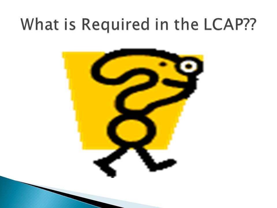  The LCAP must include the school district's annual goals in each of the eight priority areas.