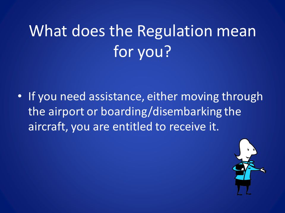 What does the Regulation mean for you.