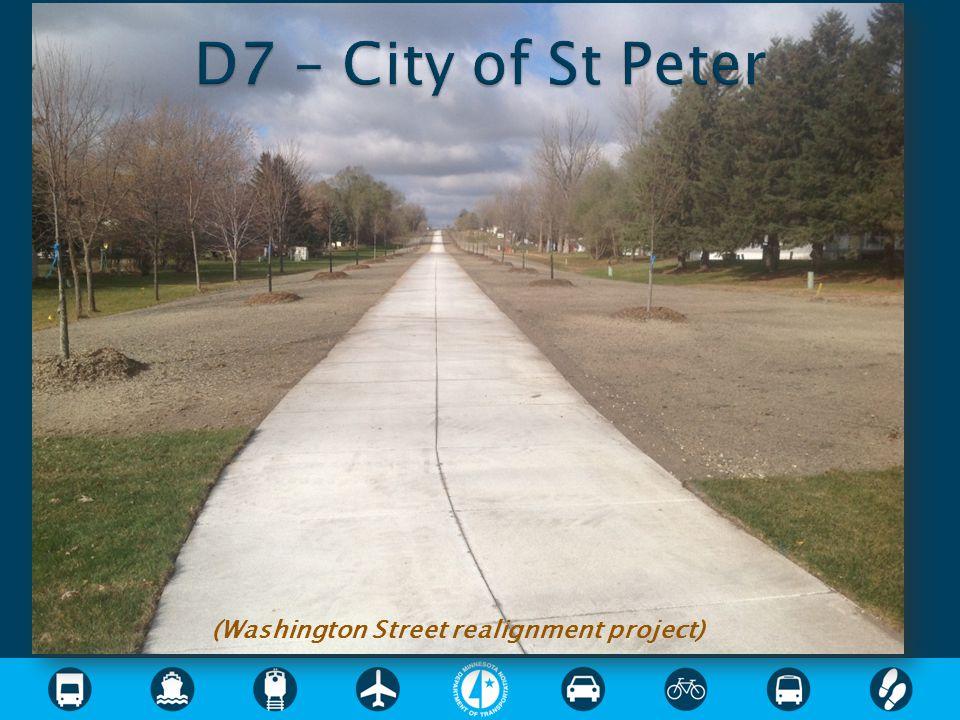 (Washington Street realignment project)