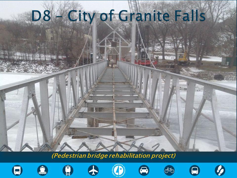 (Pedestrian bridge rehabilitation project)