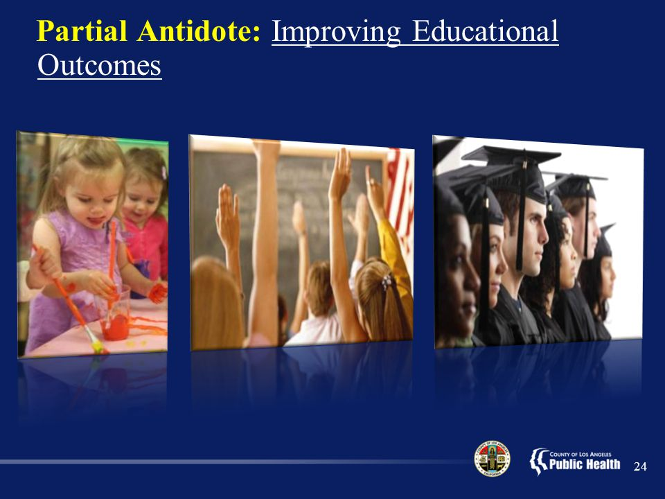 Partial Antidote: Improving Educational Outcomes 24