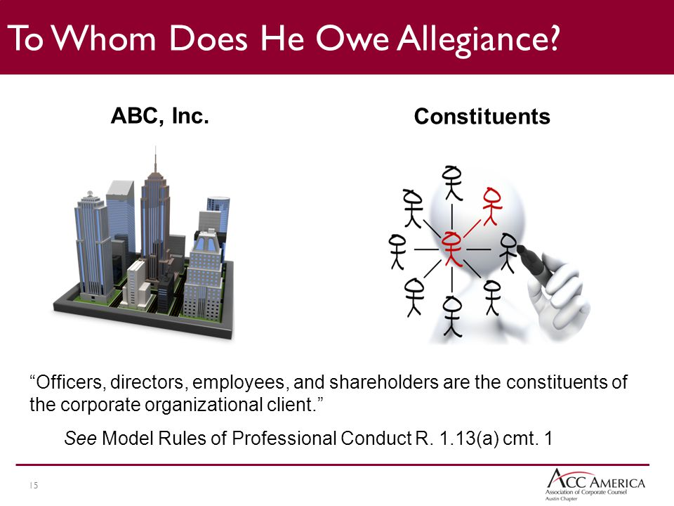 15 To Whom Does He Owe Allegiance.ABC, Inc.