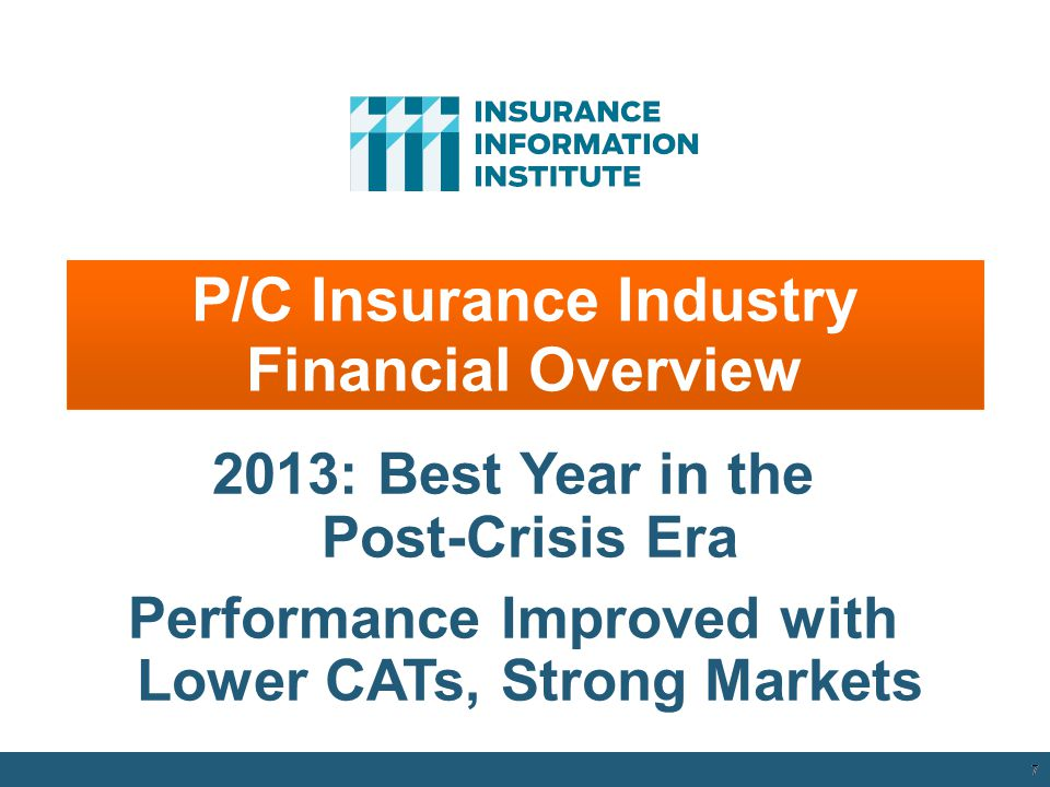 12/01/09 - 9pmeSlide – P6466 – The Financial Crisis and the Future of the P/C 6 Top 5 Global Risks in Terms of Impact, 2007—2014: Insurance Can Help W