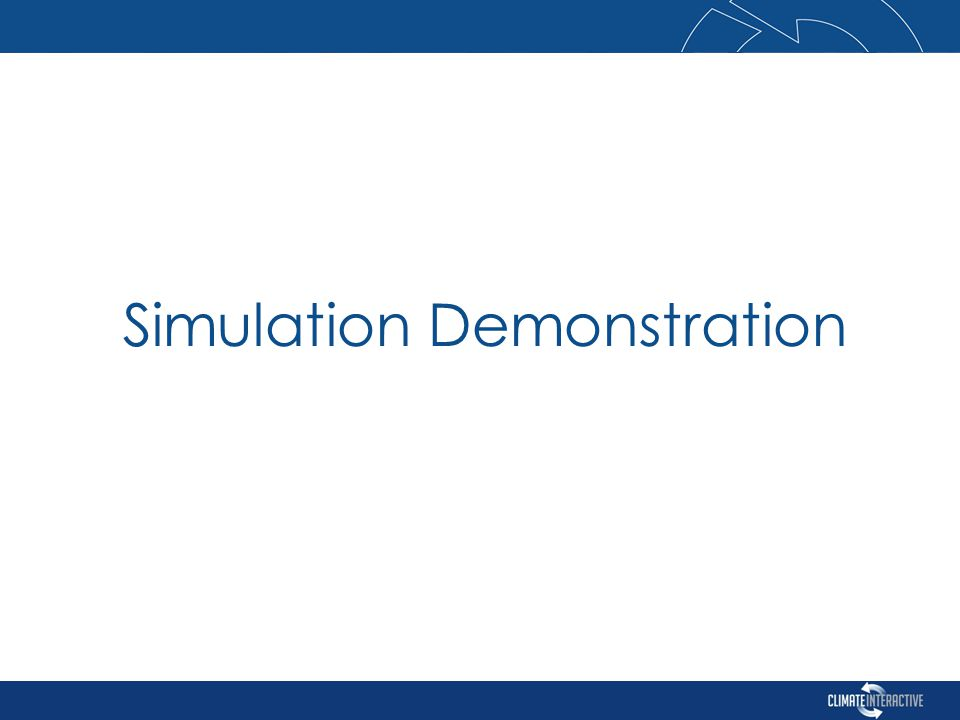 Simulation Demonstration
