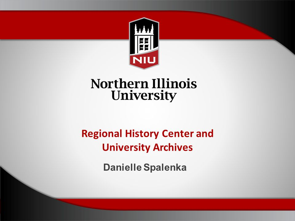 Regional History Center and University Archives Danielle Spalenka