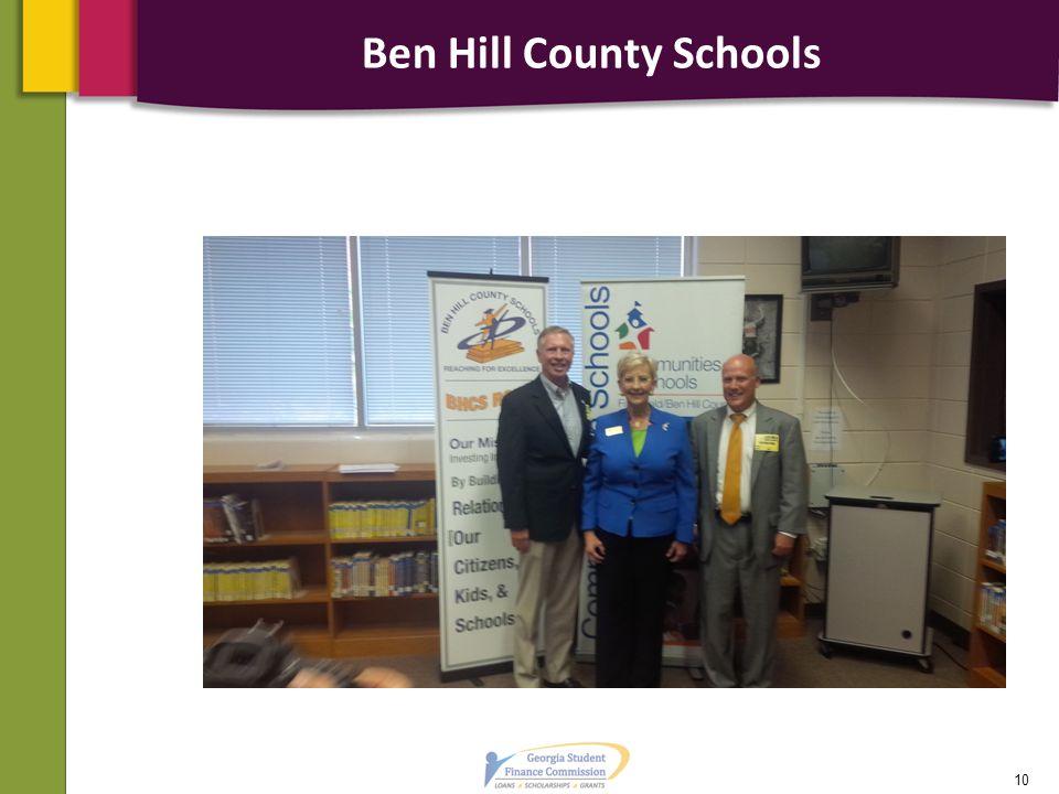 Ben Hill County Schools 10
