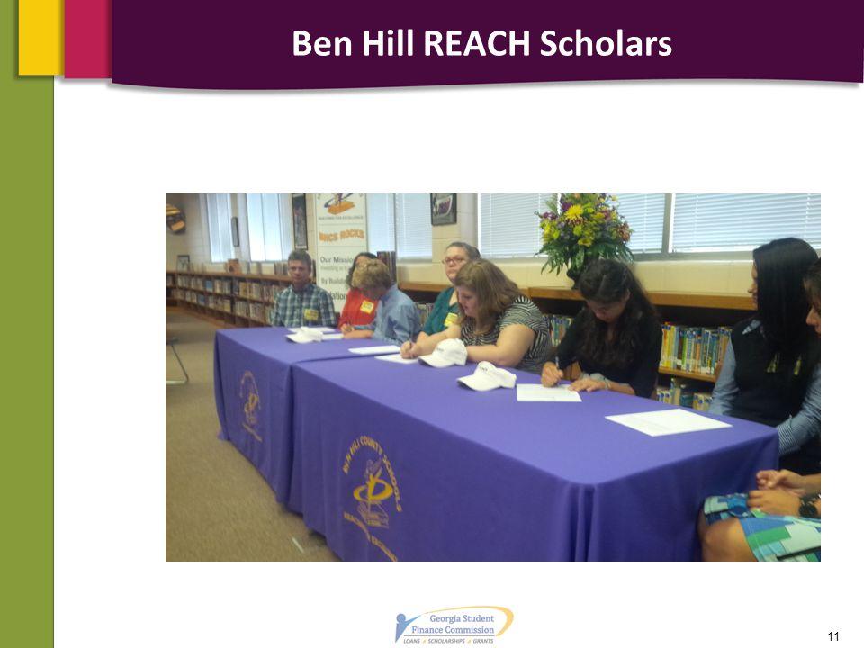 Ben Hill REACH Scholars 11