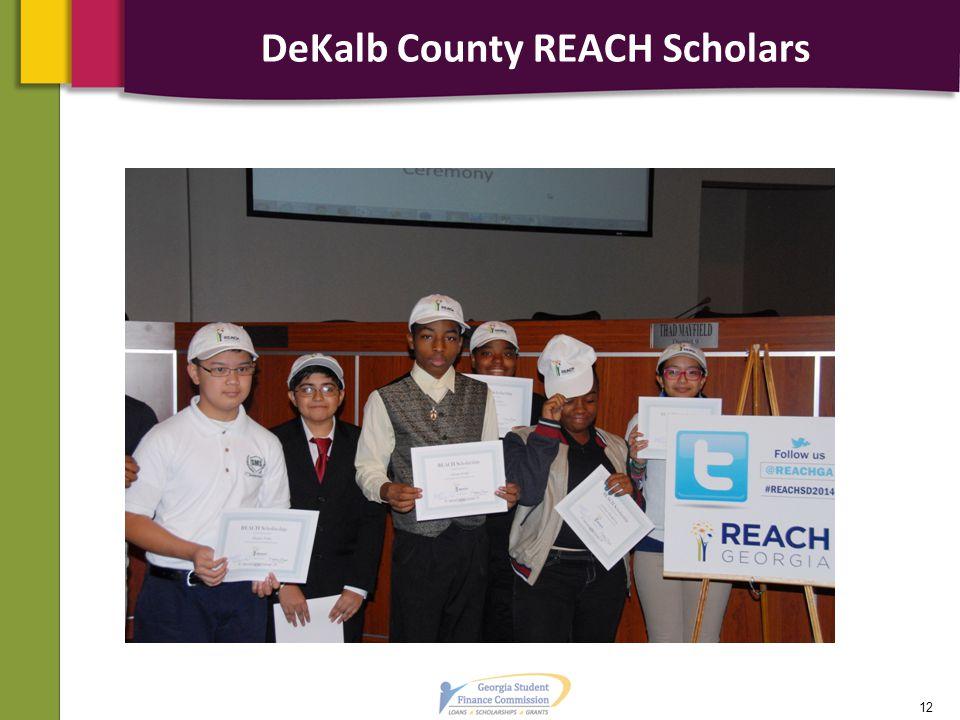 DeKalb County REACH Scholars 12