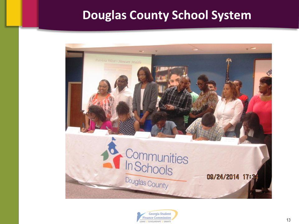 Douglas County School System 13