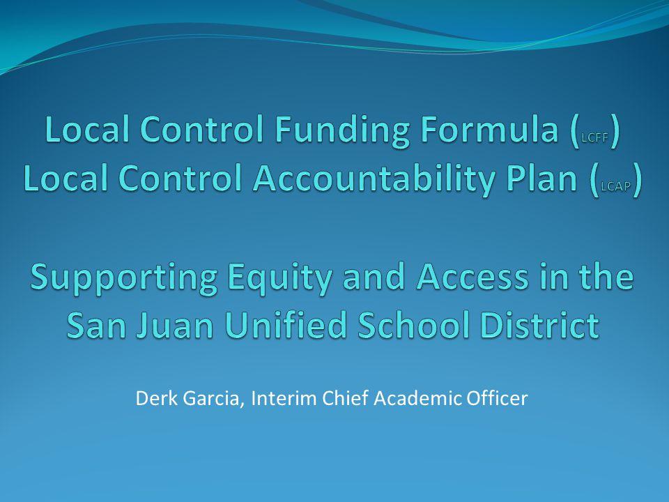 Derk Garcia, Interim Chief Academic Officer