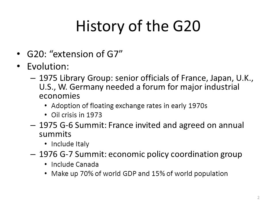 Why G-20 Leaders Discussed Structural Reform? 23