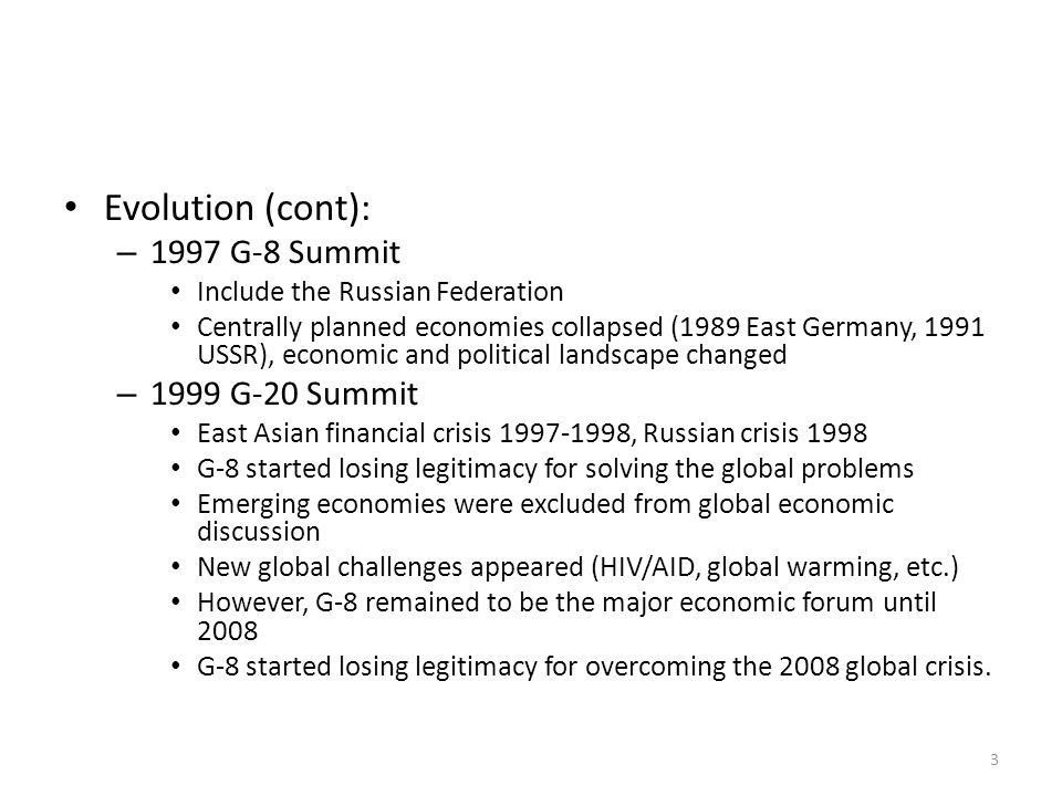 China and the G-20: Why the G-20 is Important to China.