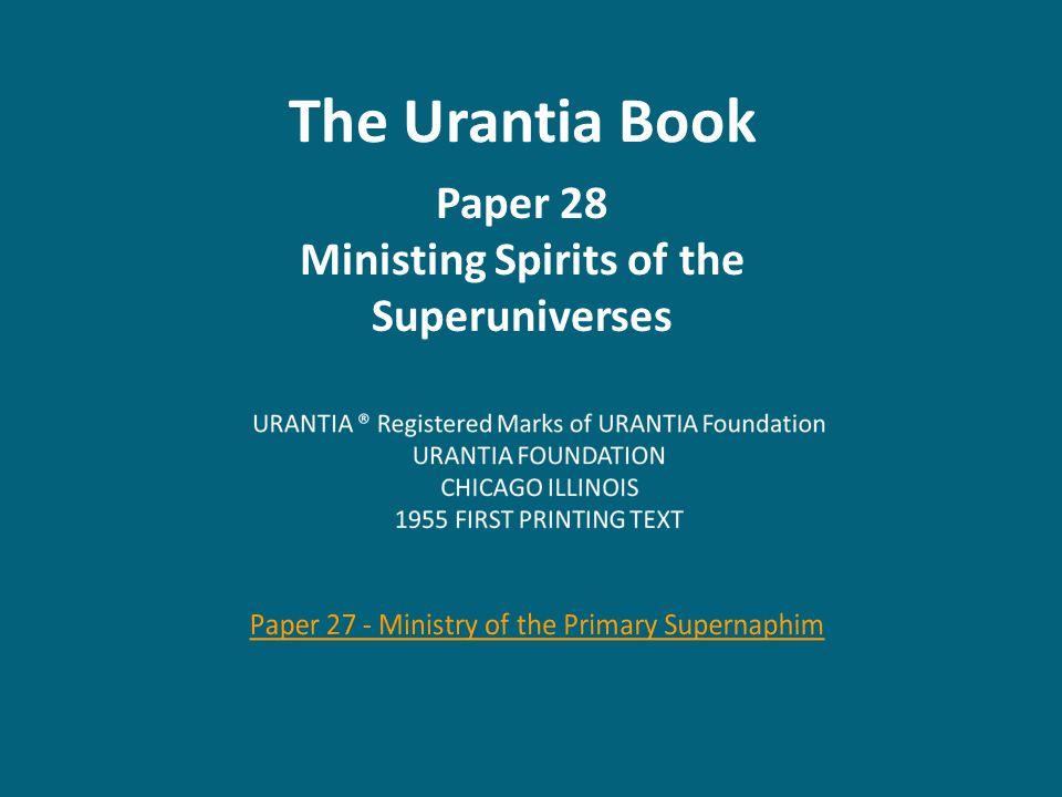 Paper 29 - The Universe Power Directors