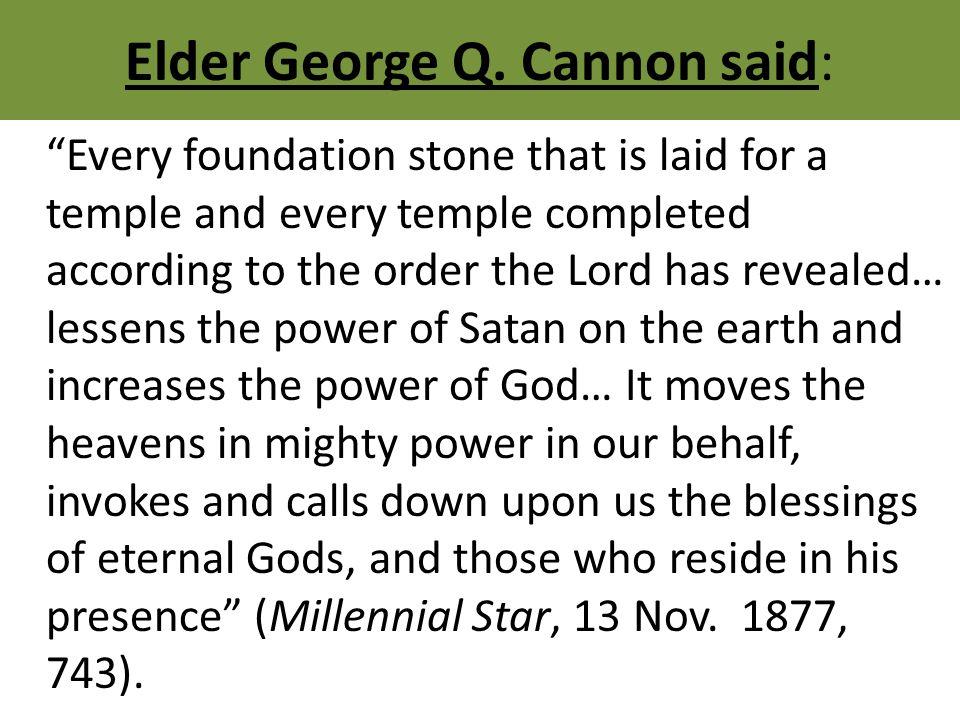 Elder George Q.