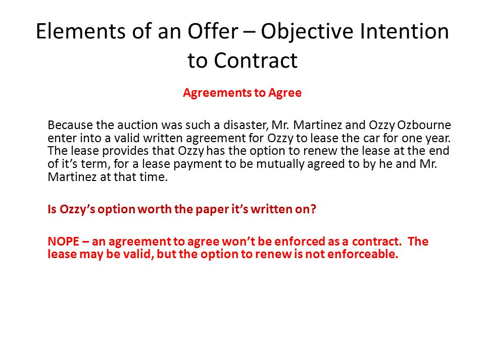 Acceptance  Mr.Martinez offers to sell his Ferrari to Kobe Bryant for $600,000.
