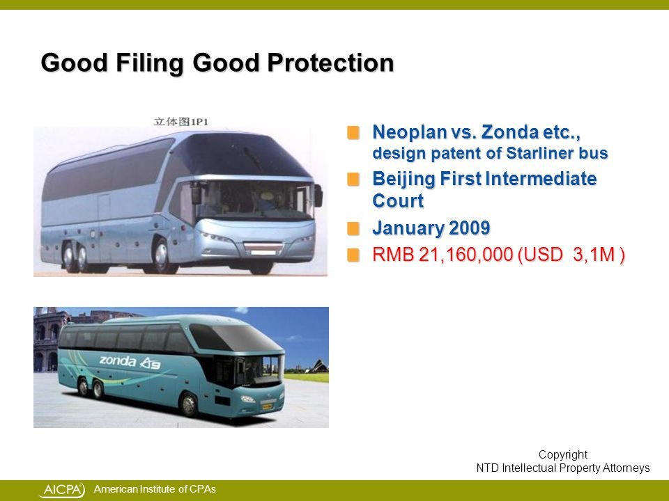 American Institute of CPAs Good Filing Good Protection Neoplan vs.