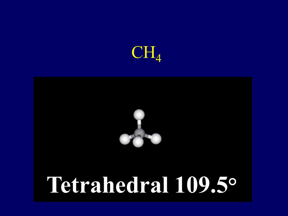 NH 3 Trigonal Pyrimidal 107°