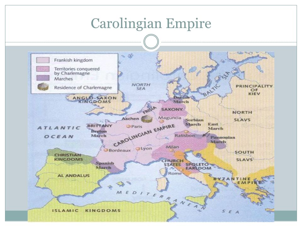 Leading Toward Feudalism Treaty of Verdun  Charlemagne's grandsons split up the empire, leaving no central authority in Western Europe  A weaker Europe becomes more susceptible to invasion – Who could invade.