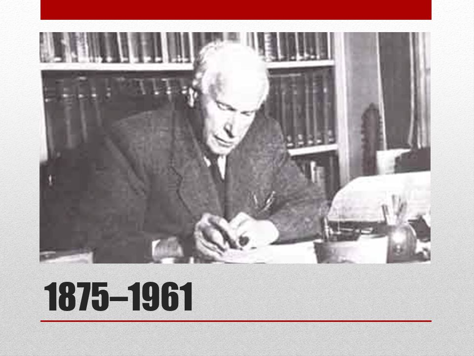 Jung was born in Switzerland, the son of a Protestant minister.