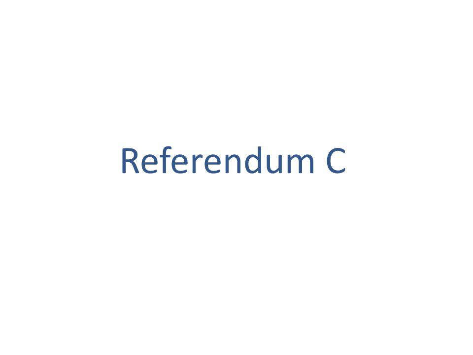 Referendum C