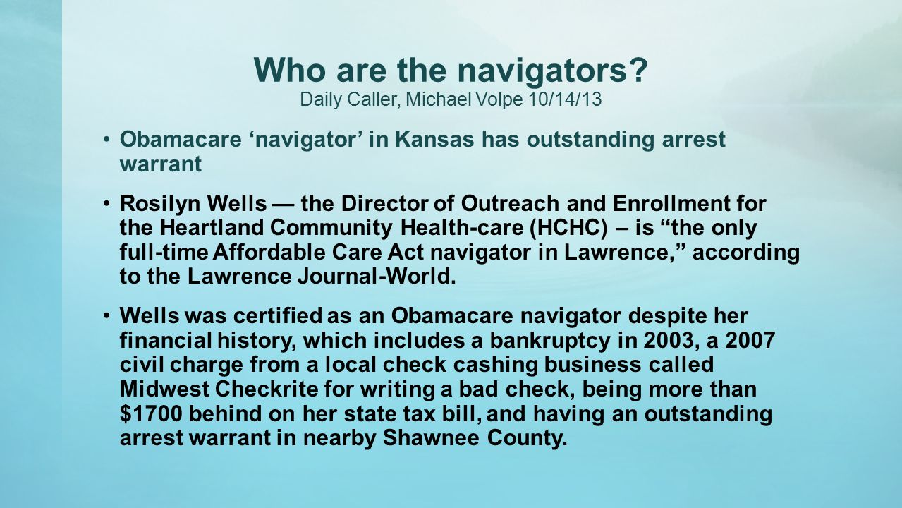 Who are the navigators.