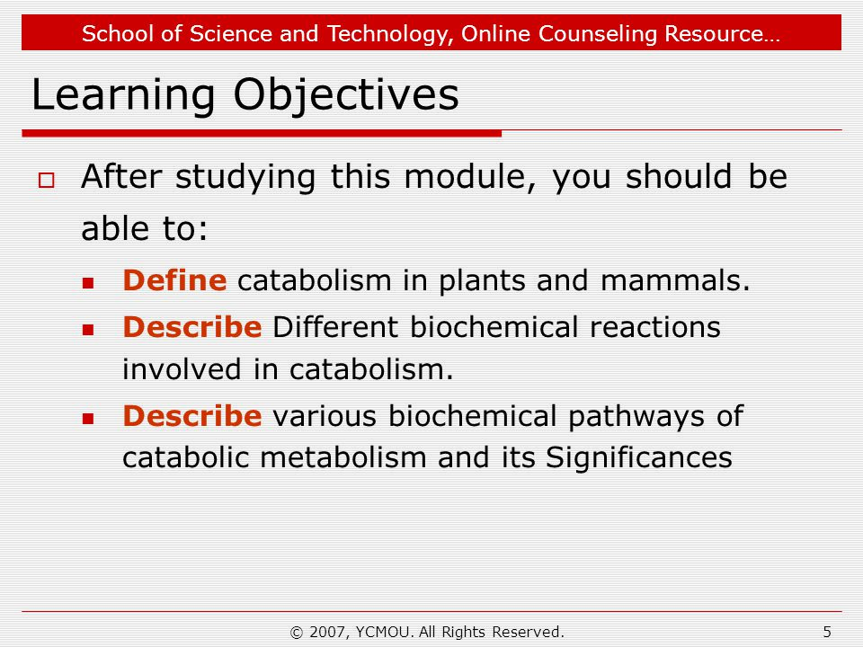 School of Science and Technology, Online Counseling Resource… Critical Thinking Question  In healthy mammals which organic compound is predominantly involved in catabolism as starting material?