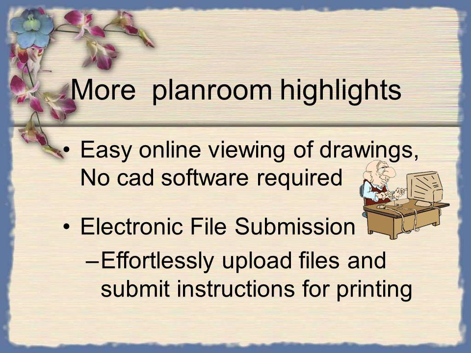 Standard Planrooms