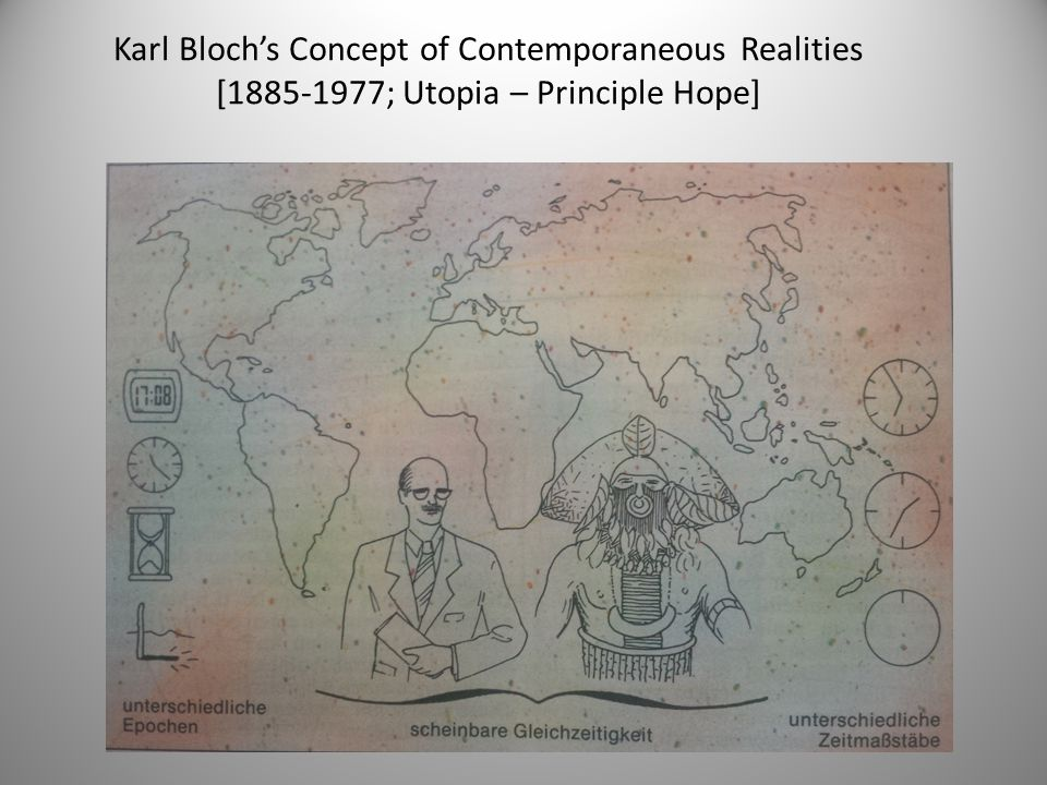 Karl Bloch's Concept of Contemporaneous Realities [1885-1977; Utopia – Principle Hope]