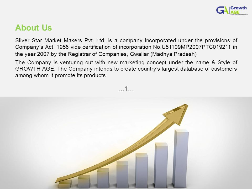 About Us Silver Star Market Makers Pvt. Ltd.