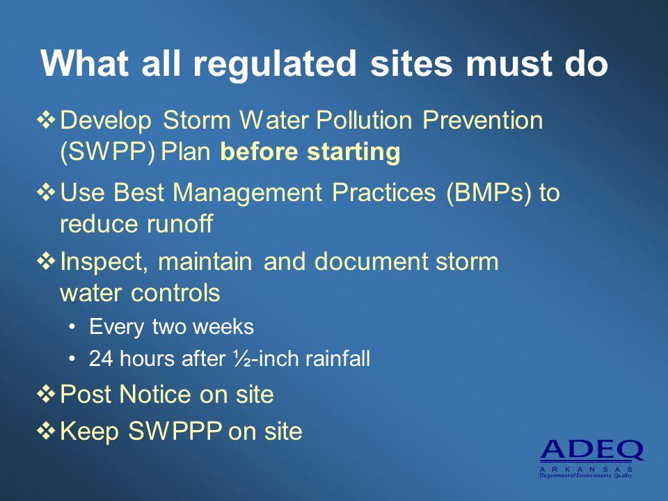 Industrial Storm Water