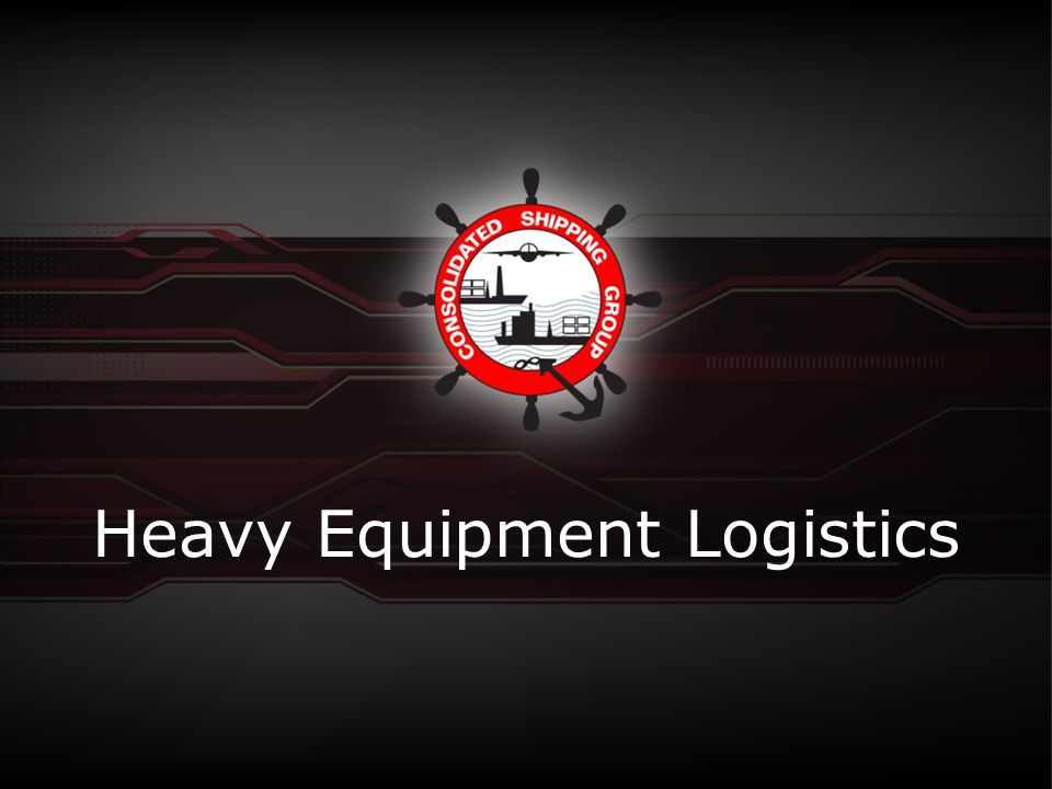 Heavy Equipment Logistics