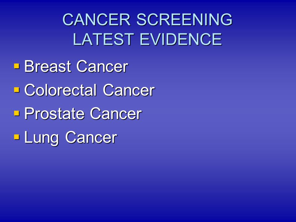 USPSTF American Cancer Society other US medical organizations Evidence is not enough to support regular screening for lung cancer Evidence is not enough to support regular screening for lung cancer Lung Cancer Screening Guidelines