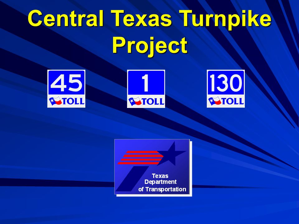 Central Texas Turnpike Project