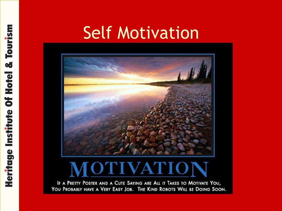 Self Motivation