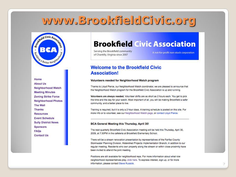 www.BrookfieldCivic.orgwww.BrookfieldCivic.org 7
