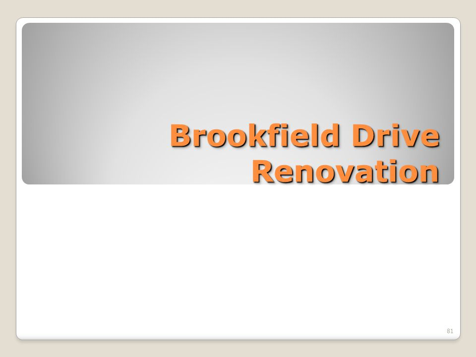 Brookfield Drive Renovation 81