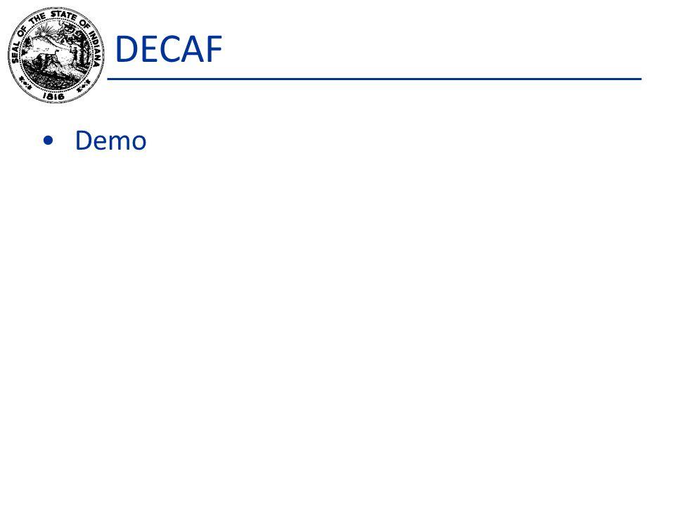 DECAF Demo