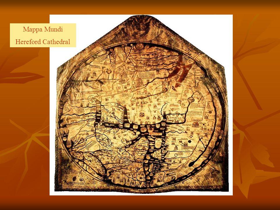 Mappa Mundi Hereford Cathedral