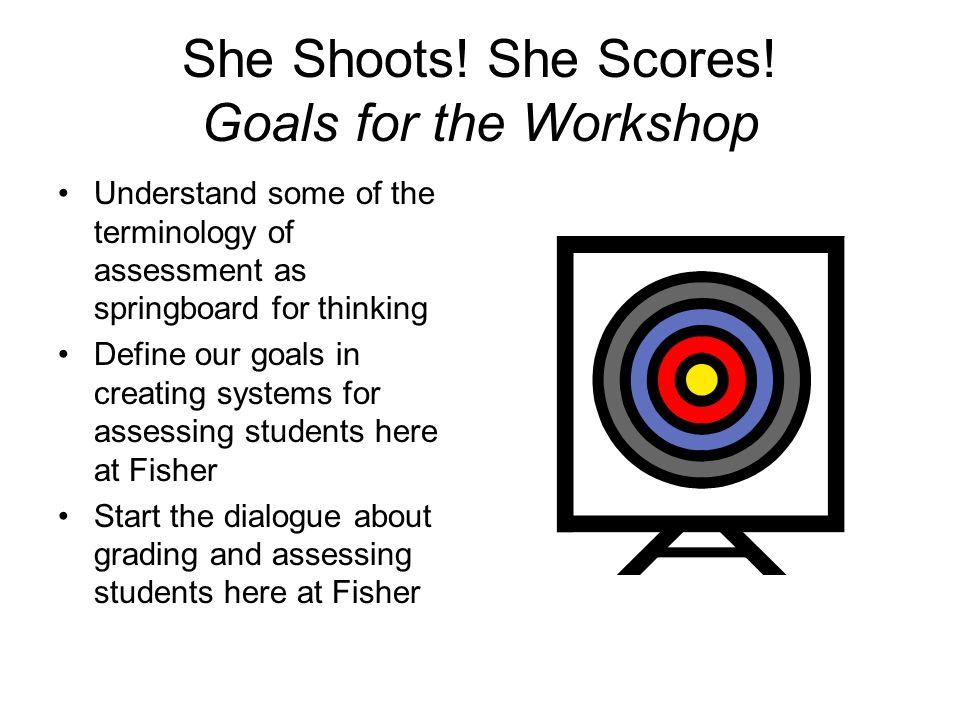 She Shoots. She Scores.
