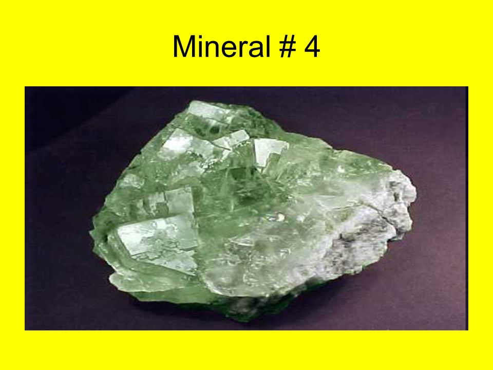 Mineral # 4