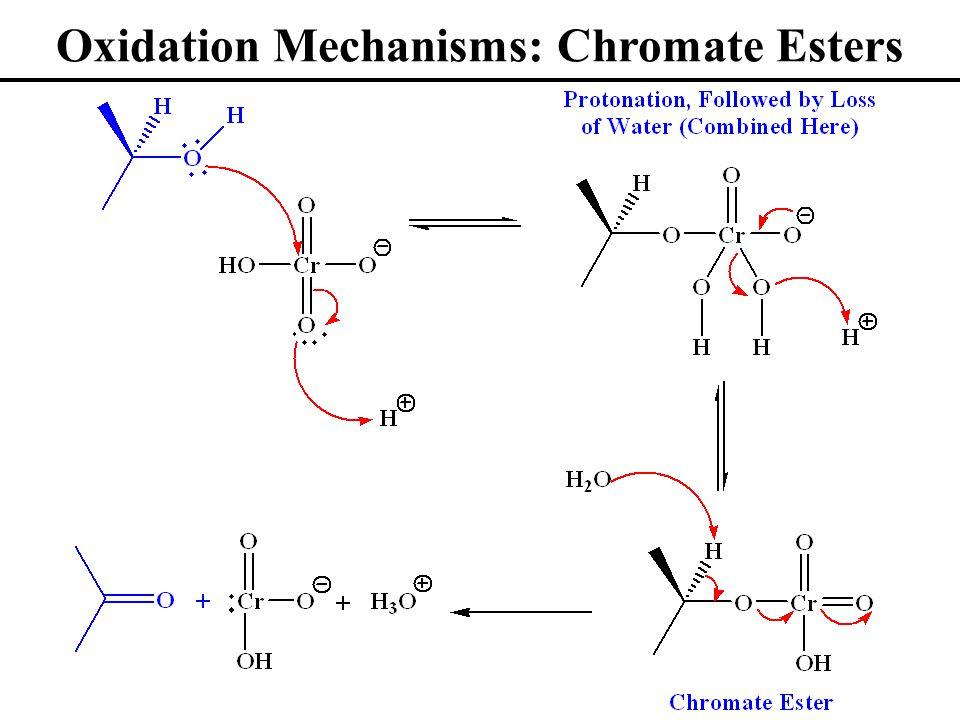Oxidation Mechanisms: Chromate Esters