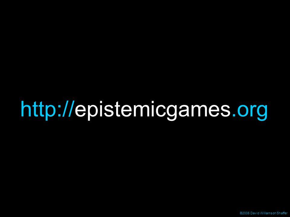 http://epistemicgames.org