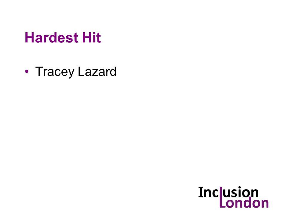 Hardest Hit Tracey Lazard